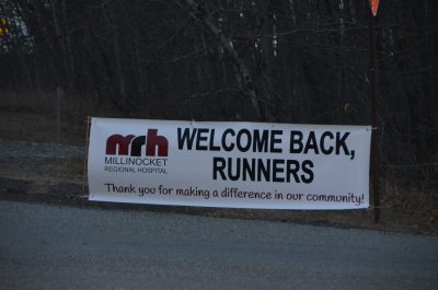 Marathon Welcome Sign