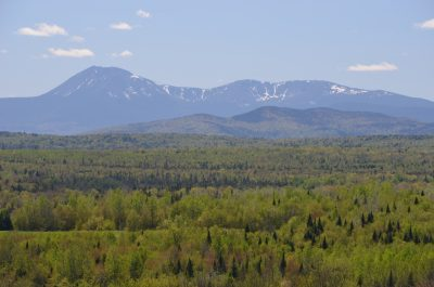 Mt. Katahdin, looking west